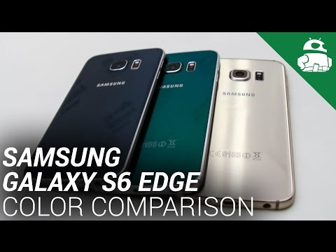 Samsung Galaxy S6 Kenar Renk Karşılaştırma!