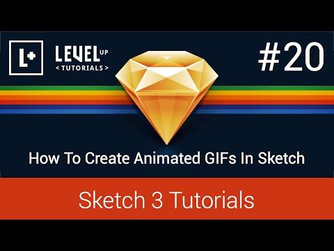 #20 Nasıl Kroki Gıfs Animasyonlu Oluştur - 3 Öğreticiler Kroki
