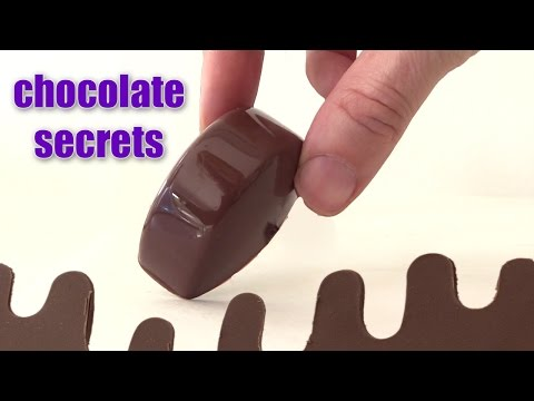 Çikolata Sır O Ann Reardon Temper Yemek Yapmayı