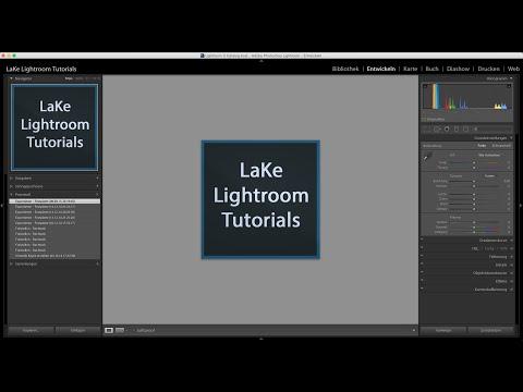 Göl Lightroom Tutorials: 4 Schnelle Eklicez