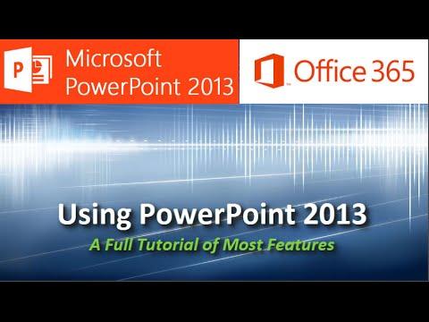 Powerpoint 2013 Eğitim - Powerpoint, Birçok Yönüyle Tam Öğretici