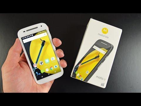 Motorola Moto E (2 Gen): Unboxing Ve Gözden Geçirin