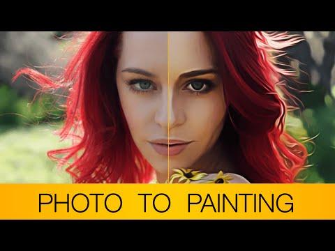 Photoshop Tutorial   Fotoğraf Yağlıboya Resim (+ Bonus Eylem Dosya Açıklama)