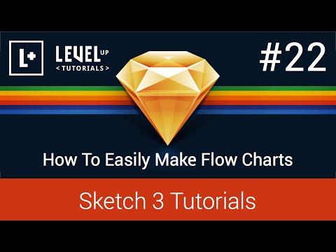 #22 Nasıl Kolayca Yapmak Akış Şemaları İçin - 3 Öğreticiler Kroki.