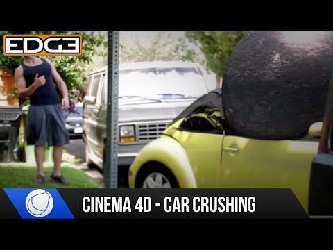 Cinema 4D Eğitimi - Araba Kırma Bez Dynamics C4D Hd İle