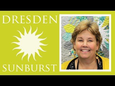 Dresden Sunburst Yorgan: Kolay Öğretici Jenny Anomali Missouri Star Yorgan Co İle Kapitone