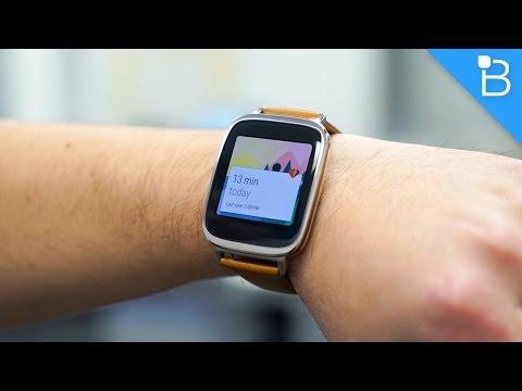 Asus Zenwatch Unboxing Ve Uygulamalı