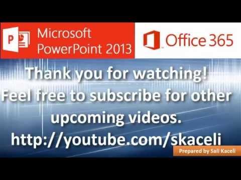 Şablonları Kullanarak Powerpoint 2013 (3 / 18)