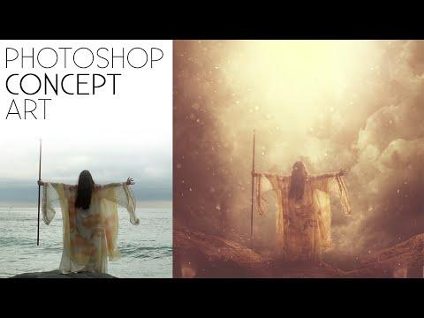 Photoshop Konsept Sanat Dersleri   Fotoğraf Düzenleme Efektleri