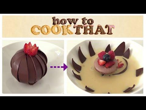 Sihirli Çikolata Çiçek Tatlı O Ann Reardon Yemek Yapmayı