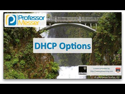 Dhcp Seçenekleri - Sık Ağ + N10-006 - 1.3