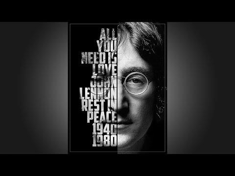 Photoshop: Güçlü Bir Oluşturmak Metin Portre Poster