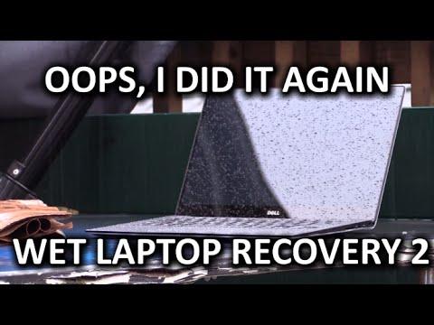 Islak Laptop Kurtarma Yeniden - Dell Xps 13