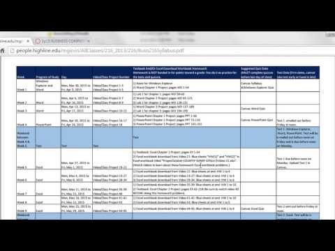 İnsanlar Ve Tuval Web Sitesi Busn 216 - Sınıf Intro Video İçin