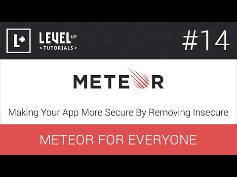 #14, App Daha Yapma Güvenli Güvensiz - Kaldırarak Meteor Herkes İçin