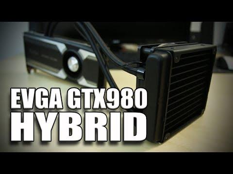 Evga Gtx980 Hybrid - Overclock Ve Soğutucu Test!