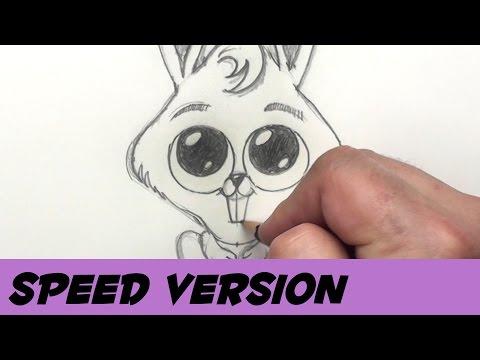 Nasıl Bir Tavşan Çizmek İçin Çocuklar İçin Tavşan Hız Sanat - Paskalya Tavşanı - Resim Dersleri   Kan Basıncı