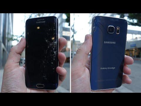 Samsung Galaxy S6 Kenar Damla Test - En Dayanıklı Henüz?!