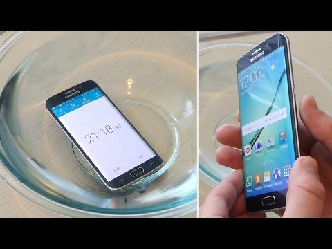 Samsung Galaxy S6 Kenar Suyu Testi - Gizlice Su Geçirmez/dayanıklı?