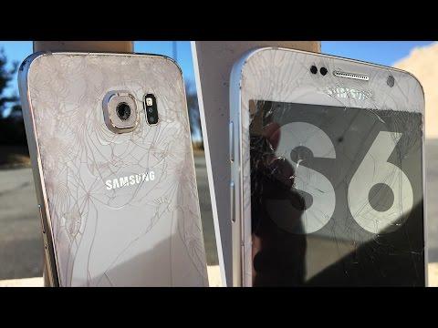 Samsung Galaxy S6 Damla Test - Kenar Farklı?