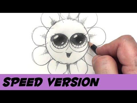 Paralar - Hız Çizim Karikatür Çiçek İle Bir Çiçek Çizmek İçin Nasıl | Kan Basıncı