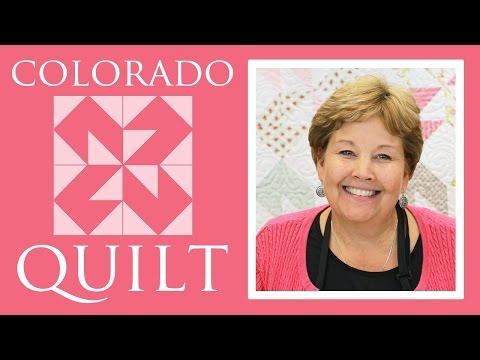 Colorado Yorgan: Kolay Öğretici Jenny Anomali Missouri Star Yorgan Co İle Kapitone
