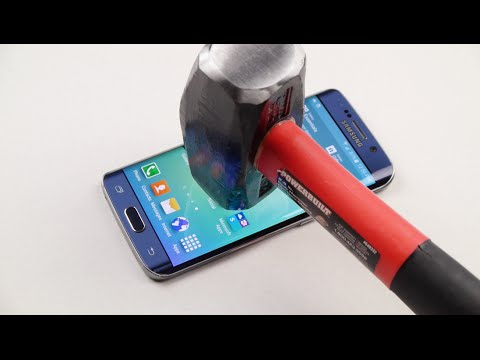 Samsung Galaxy S6 Kenar Çekiç Ve Bıçak Test Kaşı