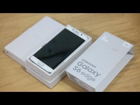 Samsung Galaxy S6 Kenar Unboxing