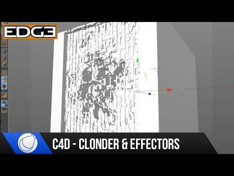 Sinema 4D Eğitimi - Cloner Ve Effectors C4D Hd
