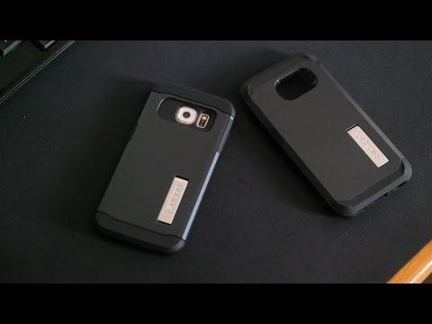 Spigen Sert Ve İnce Zırh Galaxy S6 Kenar Case İnceleme
