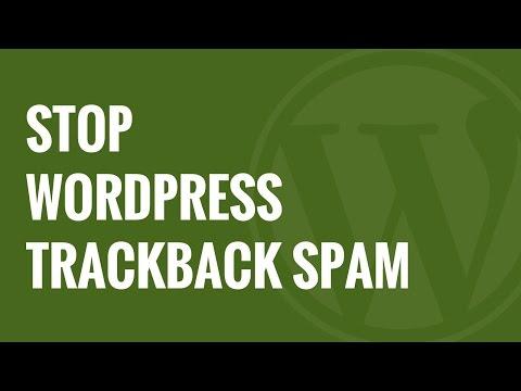 Nasıl Wordpress Trackback Spam Durdurmak İçin