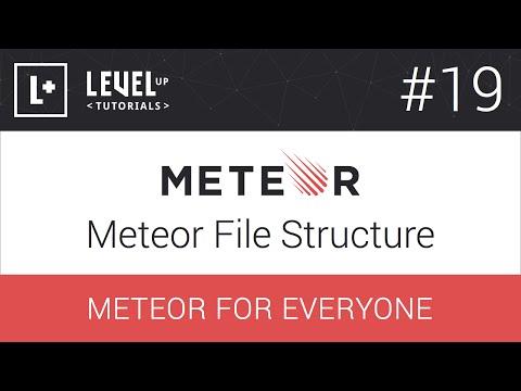 #19 Meteor Dosya Yapısı - Meteor Herkes İçin