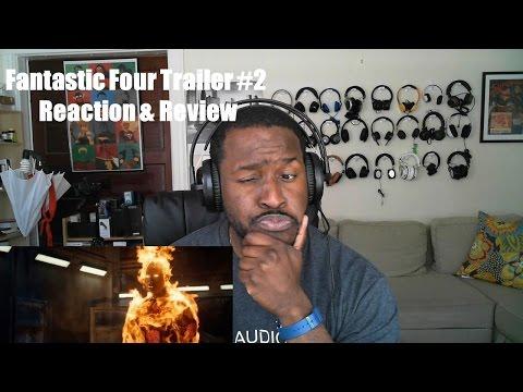 Fantastik Dört Trailer #2 Reaksiyon Ve Bir Daha Gözden Geçirme