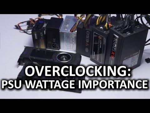 Öneriler - Düşük Vs Yüksek Voltajlı Güç Kaynakları Overclock