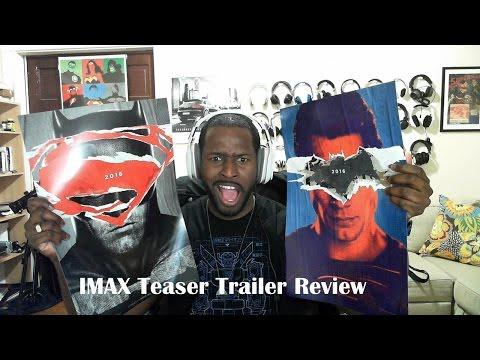 Batman V Superman: Adalet Imax Teaser Trailer Dergisi Şafağı