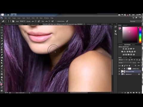 Cilt, Saç Ve Photoshop Göz Rengi Değiştirme