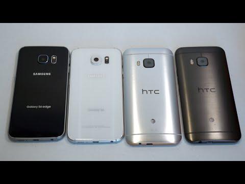 Samsung Galaxy S6 Ve S6 Edge Vs.  Htc Bir M9 Karşılaştırma Smackdown