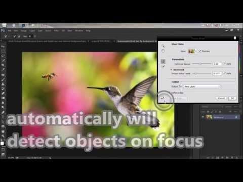 Adobe Photoshop Cc 2015 Odak Alanını (Yeni Aracı)