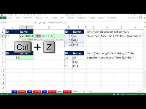 Excel Sihir Numarası 1194: Düşeyara: Veri Uyuşmazlığı Yapar Verimleri #yok, Ne Yapmak İçin?