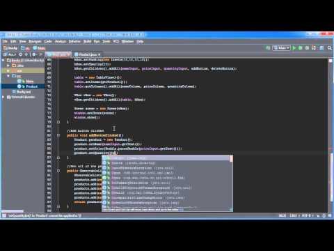 Javafx Java Guı Eğitim - 20 - Ekleme Ve Tableview Satır Silme