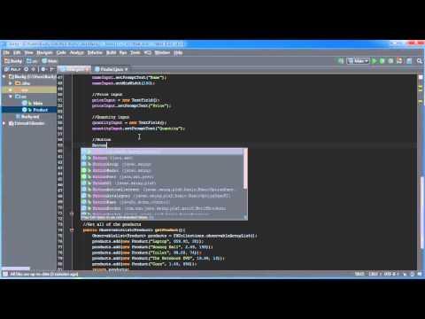 Javafx Java Guı Öğretici - 19 - Düzenlenebilir Tablolar
