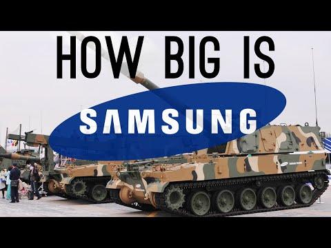 Samsung Büyüklüğü Nedir? (Onlar Bir Askeri Departmanı Var!)