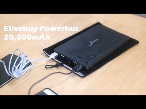 Elivebuy Powerbus 20, 000Mah Taşınabilir Şarj Cihazı Bir Daha Gözden Geçirme