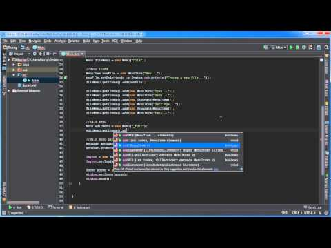 Javafx Java Guı Öğretici - 22 - İşleme Menü Tıklanma