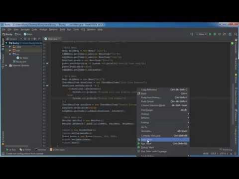 Javafx Java Guı Öğretici - 23 - Checkmenuıtem