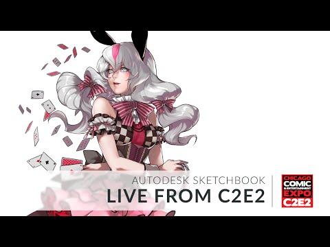 Autodesk Sketchbook C2E2 Livestream - Pazar