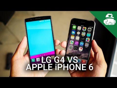 Lg G4 Vs İphone 6 - Quick Look