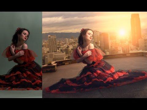 Photoshop Fotoğraf Manipülasyon Eğitimi | Bina Kız | Fotoğraf Efektleri [Episode 17]