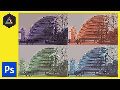 Tek Renkli Etkisi Adobe Photoshop Ep6/15 [Multimedya Tasarımı Kursu - Yazdır]