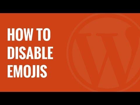 Wordpress 4 2 Emojis Devre Dışı Bırakma